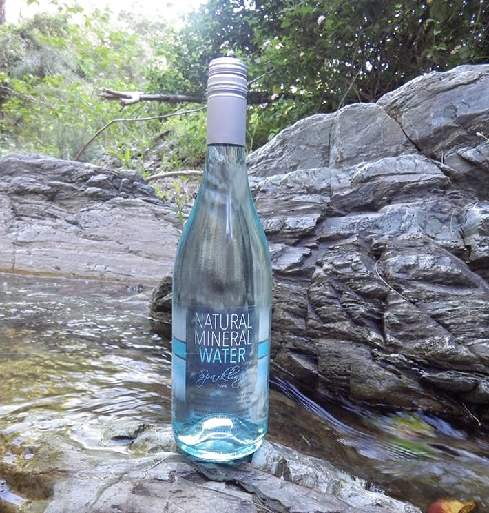 Bottled Sparkling Mineral Water